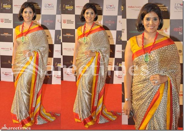 Konkana_Sen_Designer_Silk_Saree