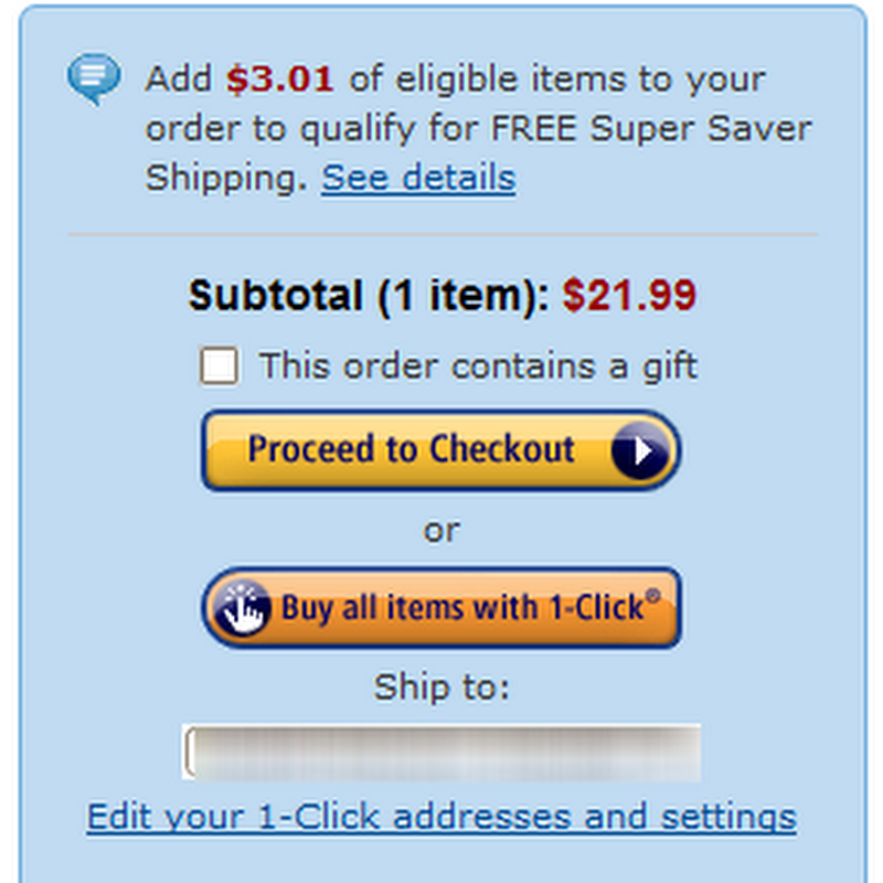 Ship Along Offers Amazon Filler Item Suggestions in Chrome to Avail Free Shipping