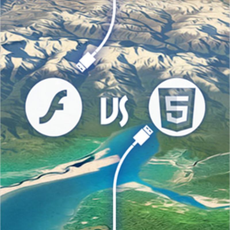 Algunas estadísticas sobre el uso de Flash vs el uso de HTML5