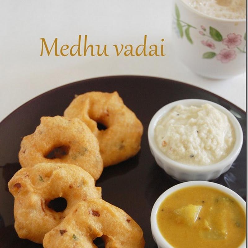 Medhu vadai (version 2)