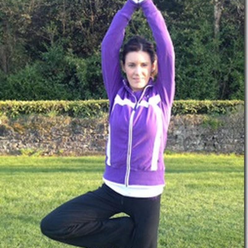 Anne Marie Kennedy–Yoga For Golf- The Tree For Lower Body Strength