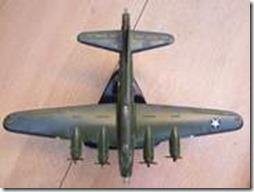 Maquette de bombardier B17G