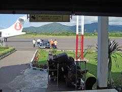 Labuanbajo airport baggage claim