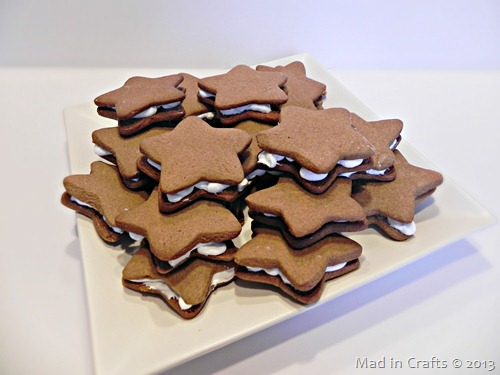 gingerbread stars