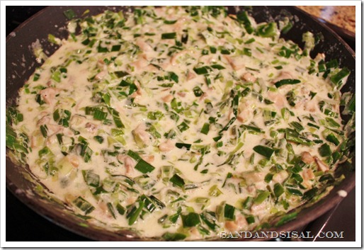 Leek Mushroom Fontina Cream mixture (1024x683)