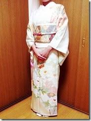 護国神社に着物でお宮参りに (2)