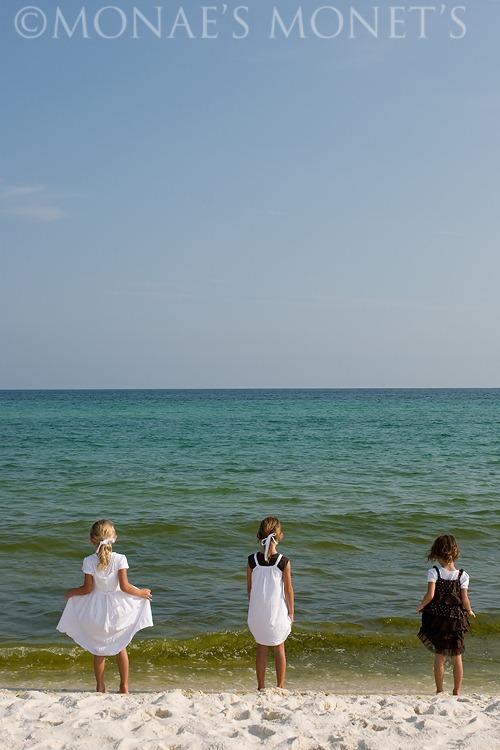 Girls in water blog