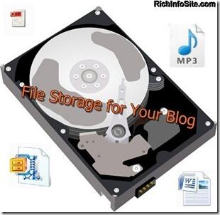 Drive-file storage
