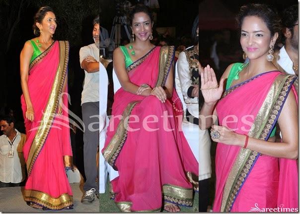 Lakshmi_Prasanna_Pink_Saree