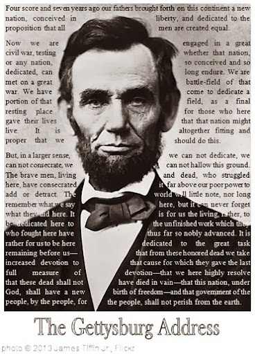 'Gettysburg Address - Abraham Lincoln (text wrapping example)' photo (c) 2013, James Tiffin Jr. - license: http://creativecommons.org/licenses/by/2.0/