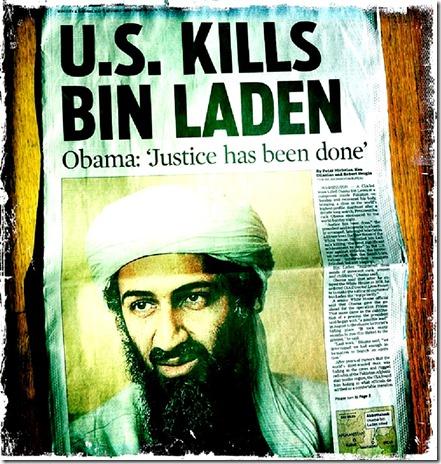 Newspaper Copy - U.S. Kills UBL