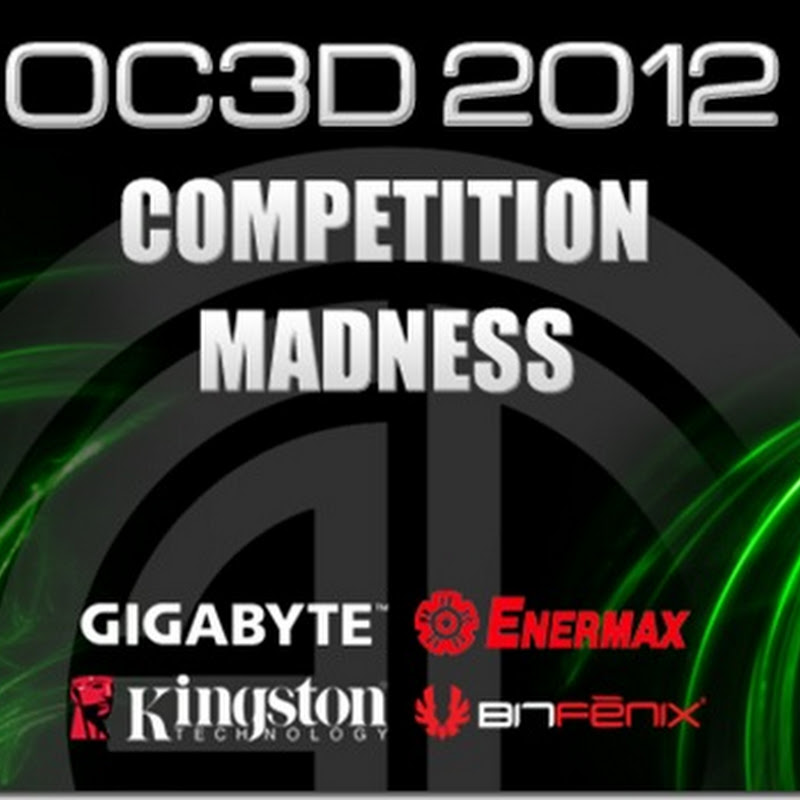 Overclock 3D give away GIGABYTE-based rigs in 2012 Competition MADNESS!