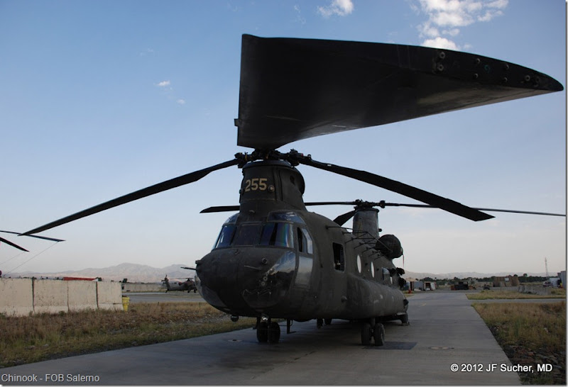 Chinook - FOB Salerno