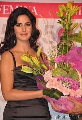 Katrina Kaif in Gorgeous Black Dress at Femina Launch 4