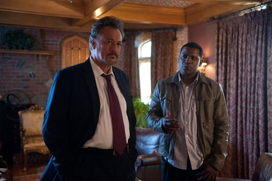 John de Lancie is Allen Shapiro and Mekhi Pfifer is Rex Matheson