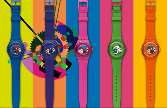 Swatch relojes New Gerent Lacquered
