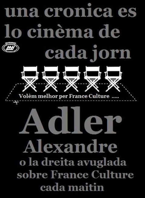 Alexandre Adler avuglament de la dreita europèa