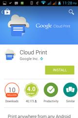 การใช้งาน cloud print ใน google