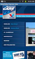 Screenshot of Amerilube Express Care