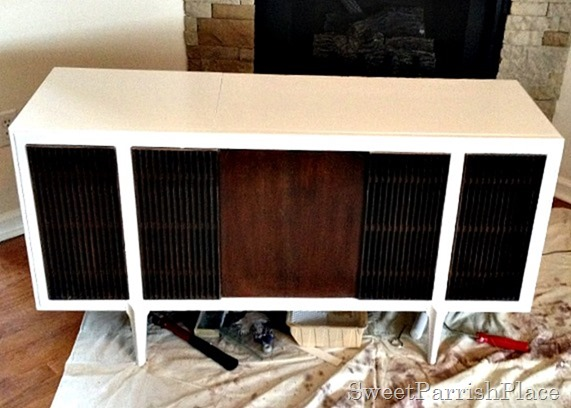 MCM Record Player Makeover4
