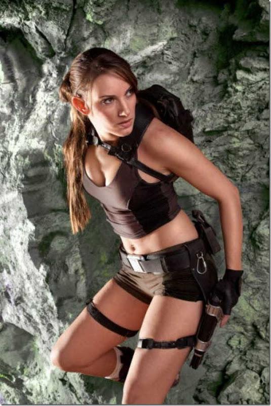 Os melhores cosplays de Lara Croft 6