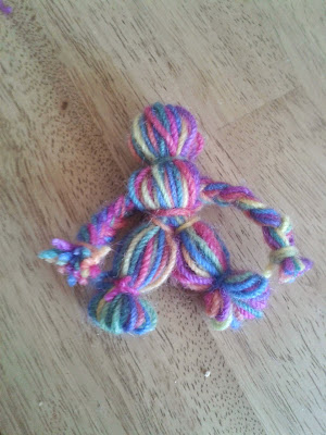 handmade stocking filler idea yarn doll