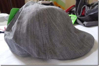 grey cadet cap