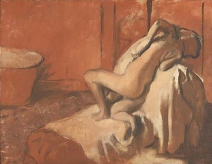 Edgar Degas, After the Bath. Woman Drying Herself, about 1896