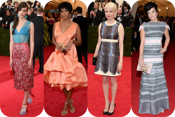 Famosas Met Gala 2014 17 Michelle Williams