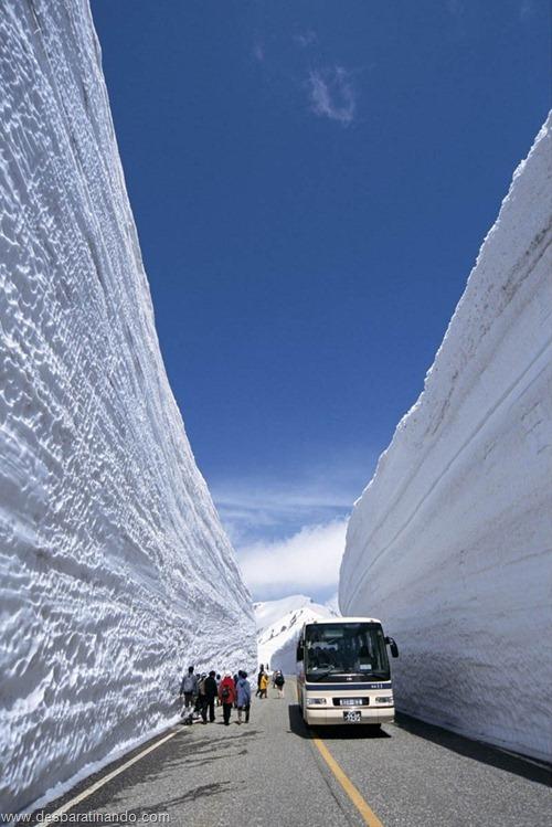 parede de neve 20 metros japao desbaratinando  (8)