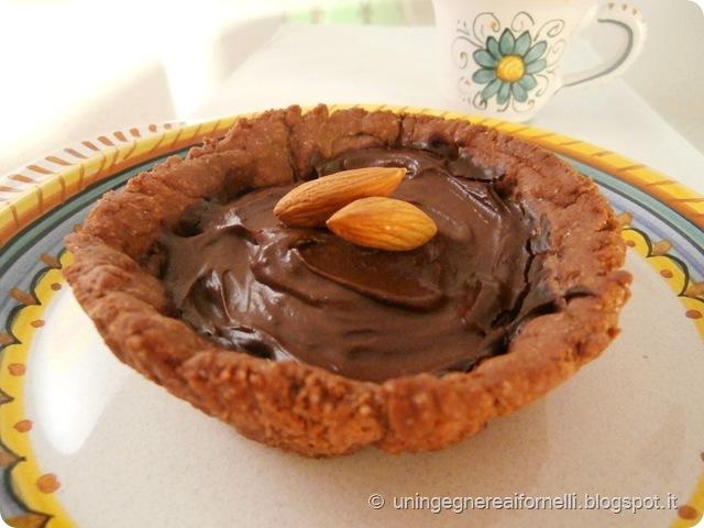 crostatine cioccolato senza burro uova panna olio avocado giada de laurentis