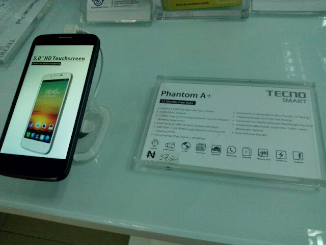 below is a specification list of this new tecno phantom
