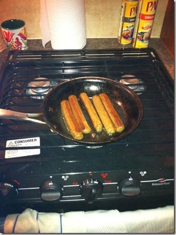 campground tofurky sausage