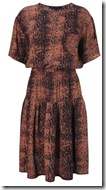 French Connection Snake Print Dress