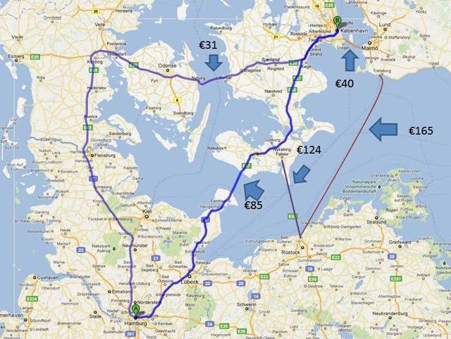 Denmark-tolls