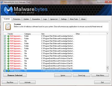 โปรแกรม กำจัด adware