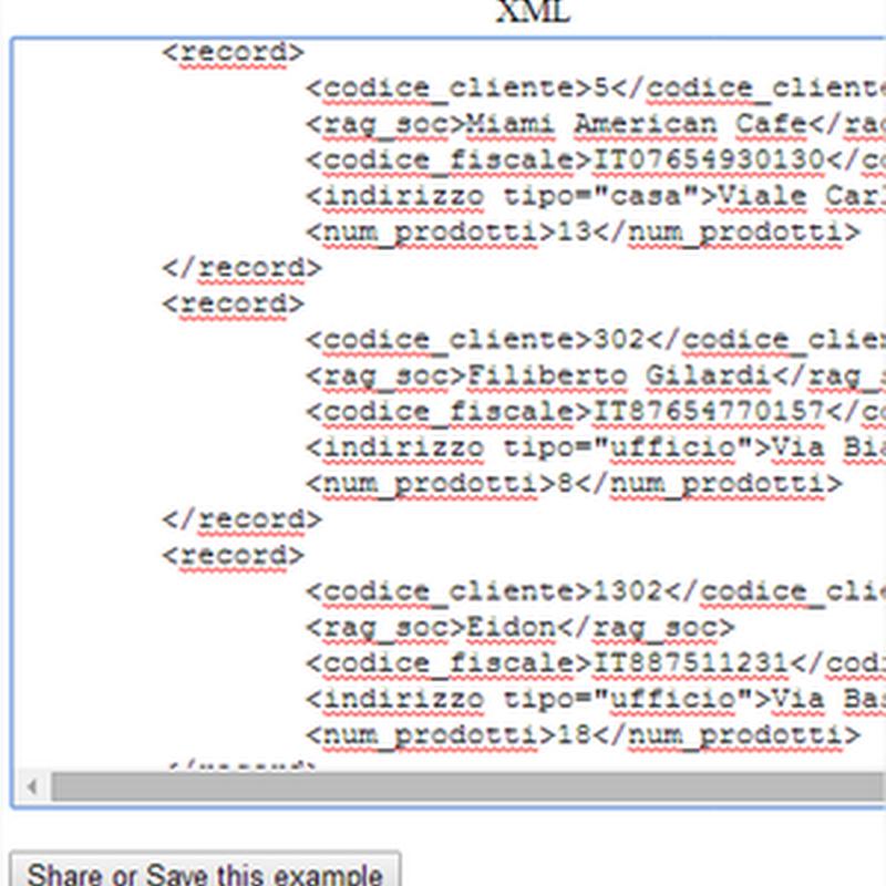 Utilities online, para convertir XML a JSON o viceversa