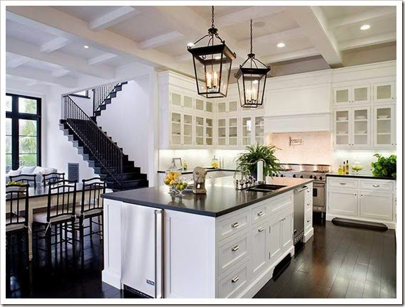 How-to-Create-Beautiful-All-White-Kitchens-with-the-ladder