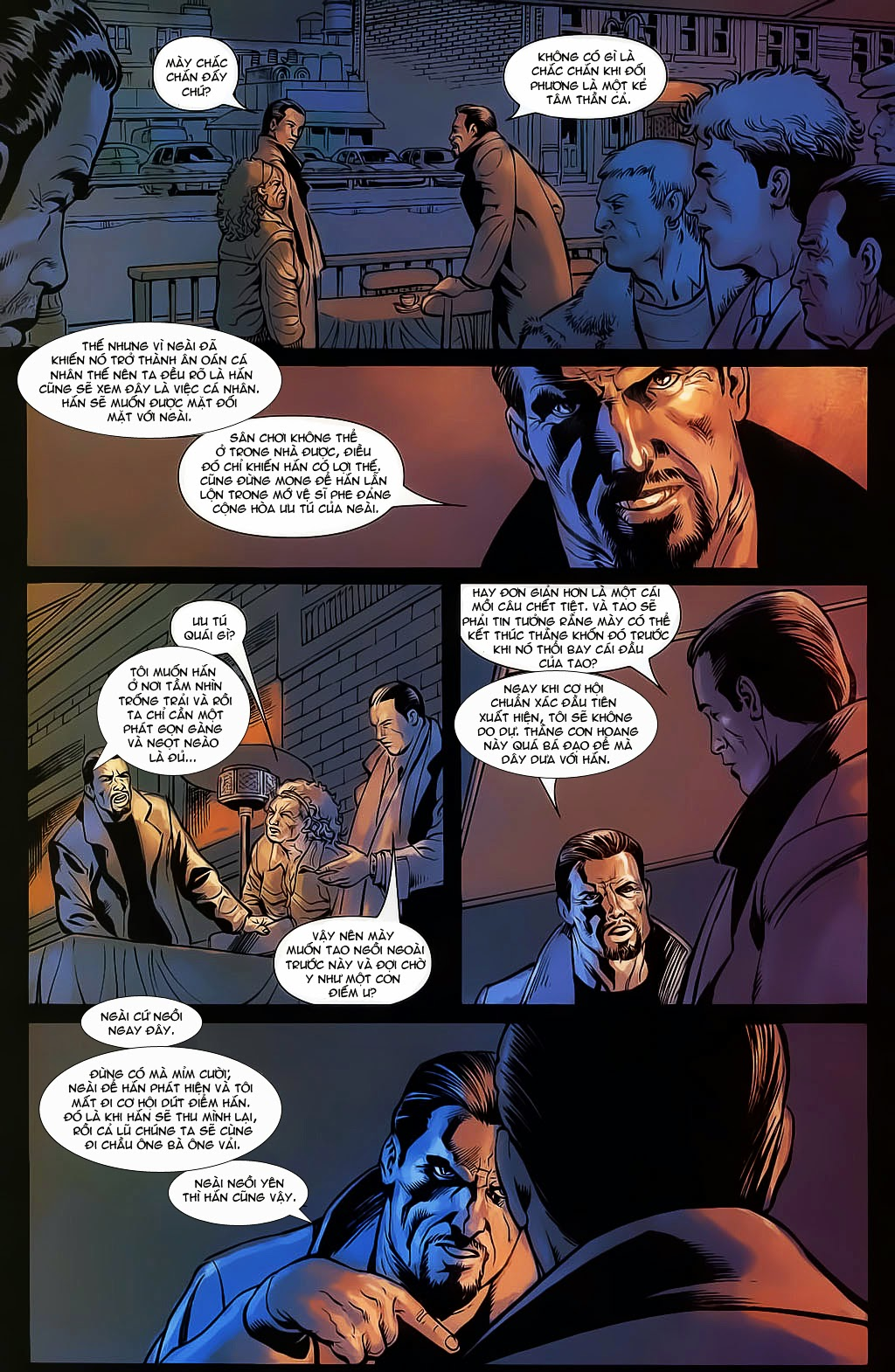 The Punisher: Trên là Dưới & Trắng là Đen chap 4 - Trang 20