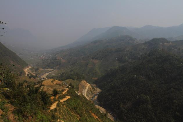 Scenic Hikes through the villages around Sapa, Vietnam