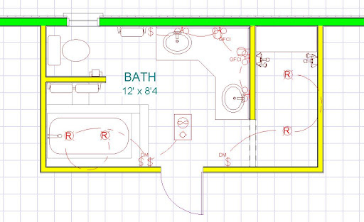Remarkable Master Bathroom Layout 512 x 313 · 47 kB · jpeg