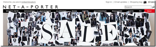 Netaporter for site search