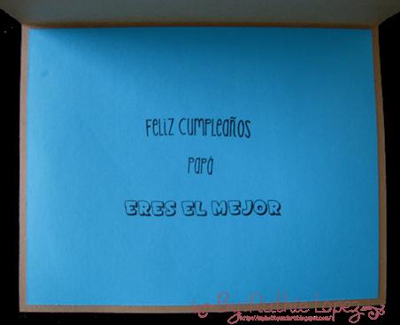 #1 Dad card - Tutorial Jardin de Ideas - Retos Abby - Ruthie Lopez 2