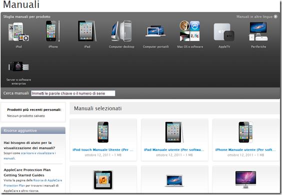 Manuali Apple