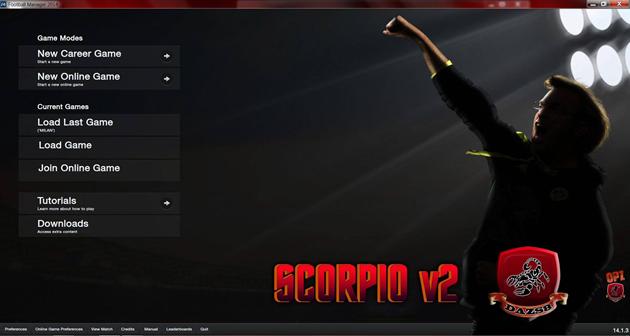 Scorpio Skin FM2014