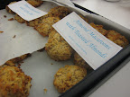 Almond macaroons from our consumer marketing department. They took only 15 minutes to pull together!