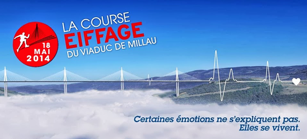 Course Eiffage du viaduc de Millau
