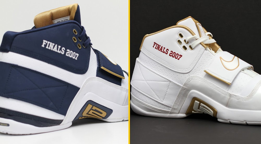 Throwback Thursday Nike Zoom Soldier 2007 NBA Finals PEs