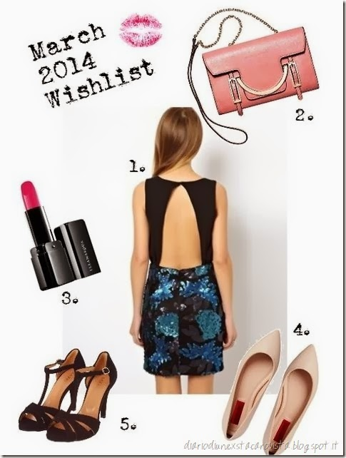 march 2014 wishlist