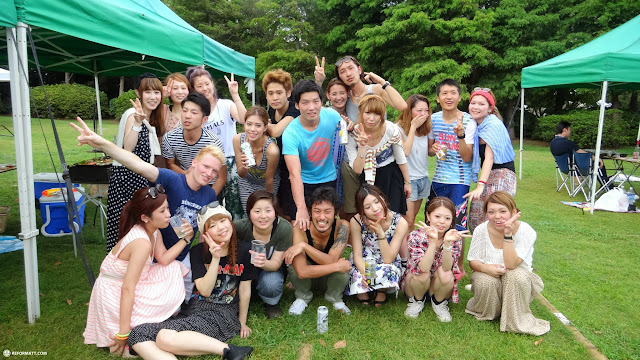 attending a BBQ in Tokyo organized by my friends in Tokyo, Tokyo, Japan